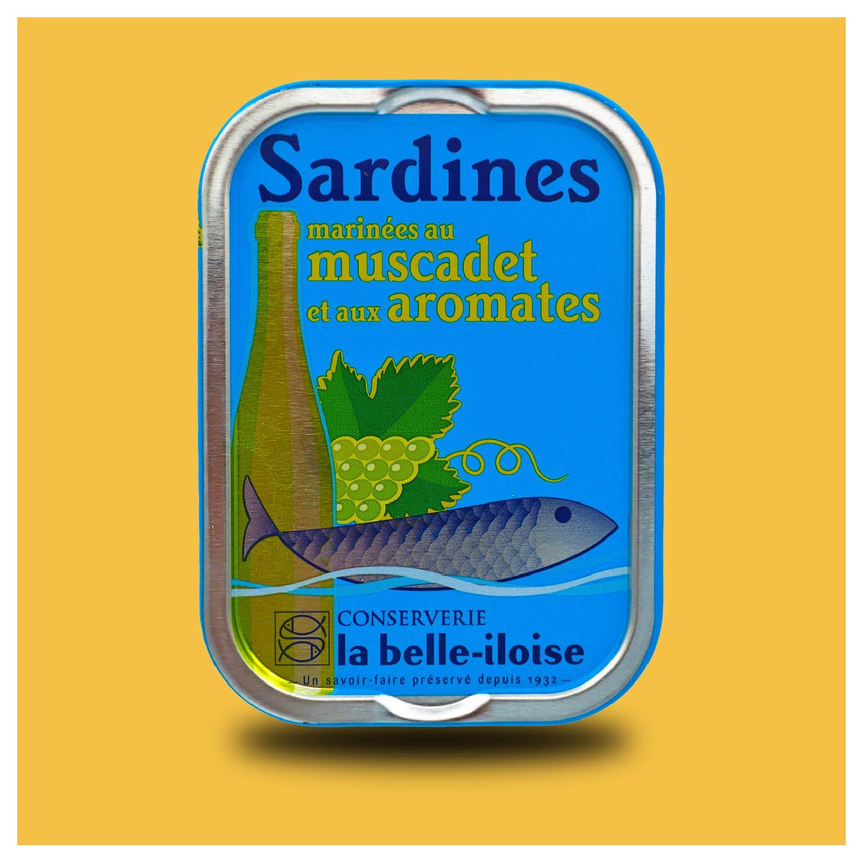Sardines op Muscadet wijn
