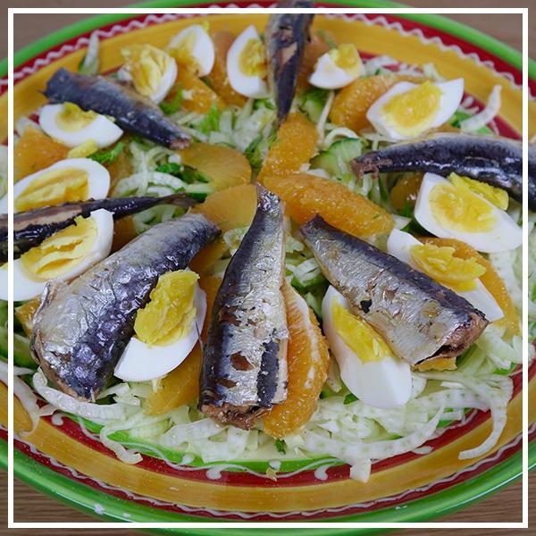 Venkelsalade met sardines