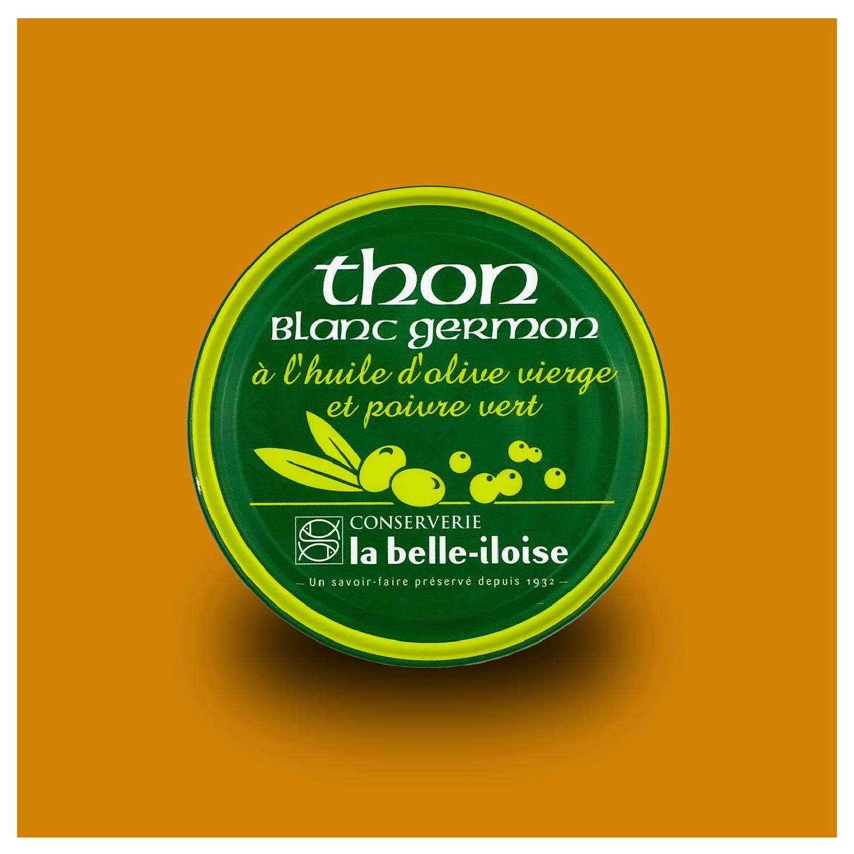 Witte Tonijn met groene pepers