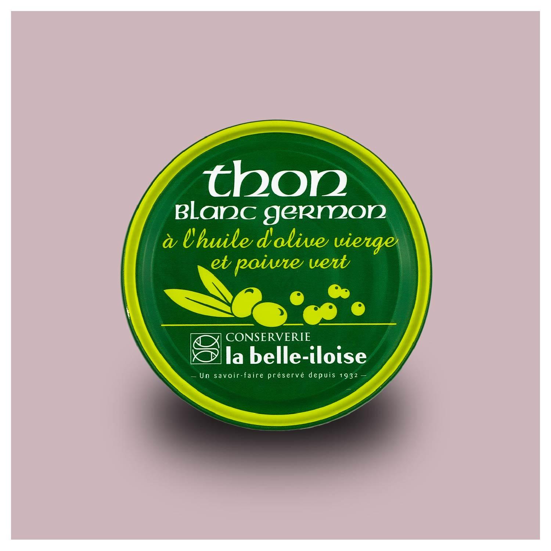 Witte tonijn met groene peper