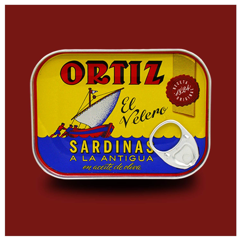 Ortiz sardines a la antigua